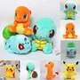 Pokemon Peluches Pikachu Bulbasor Unid Importado Ajd 029
