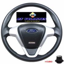 Volante Ford Titanium Prata Ecosport Fiesta Ka Escort Zetec
