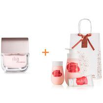 Perfume Natura Ilia + Kit Tododia Maçã E Framboesa