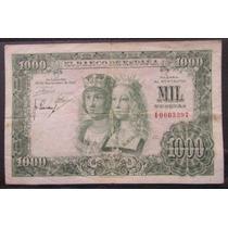 España Billete 1000 Pesetas 1957 Vf- Reyes Catolicos