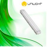 Kit De 3 Luminária Hermética 2,40 Mt +lâmpada Led Ho