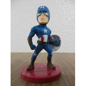 Boneco Capitão América 8cm