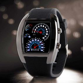 Reloj Digital Led Diseño Francés