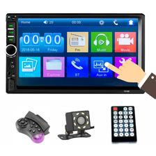 Reproductor Mp5 7018b Bluetooth Para Automóvil Con Cámara