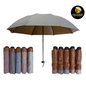 Protección Solar Uv Spf 50+ Sombrilla Paraguas Doble Capa