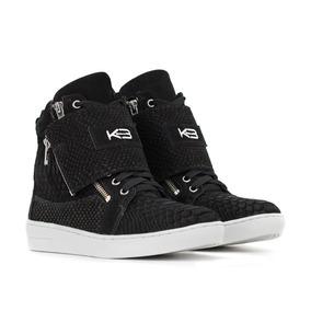 Sneaker Breezy Preto