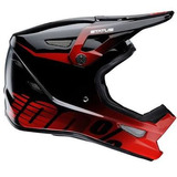 Capacete 100% 100percent Status Selecta Red Downhill Dh