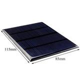 Modulo Panel Solar Portatil 12v 1.5w 115x85mm Celula Solar