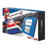 Consola Nintendo 2ds Electric + Juego Mario Kart 7 Nuevo