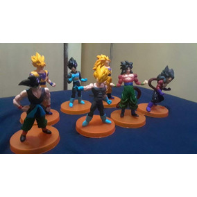 Dragon Ball Super Set D 7 Goku Vegeta Broly Veguito Caulifla