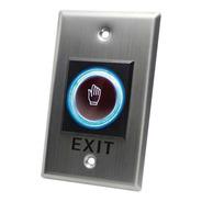 Botón Salida Sin Contacto/ Sensor Ir/ Iluminado/ N O / N C