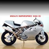 Ducati 900fe/honda Cbr 1100xx De 11 Cm. Nuevas En Caja,metal