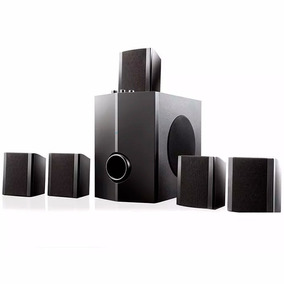 Home Theater Multilaser Sp087 40w Rms Aux 5.1 Canais Som