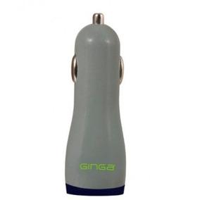 Adaptador Plug In Ginga Gi16bal01-gv - Auto, Gris, 12 V