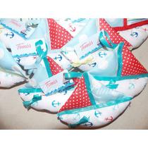 20 Souvenirs De Tela Baby Shower, Nacimiento, Bautismo,añito