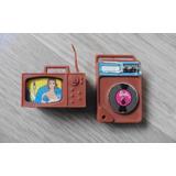 Tv E Aparelho De Som Original Barbie Mattel 1980
