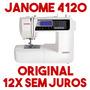 Máquina De Costura Computadorizada Janome 4120qdc Original