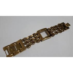 Pulseira Guess Aço Dourado - Única Completa
