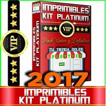 Kit Imprimible - Pack Platinum 2017 El Mejor Del Sitio