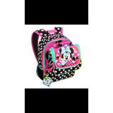 Kit Mochila Minnie E Lancheira Original Disney Store Eua