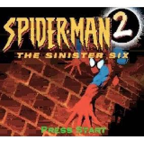 Game Boy Color Spider-man 2 Hombre Araña 6 Siniestro Gbc Gba