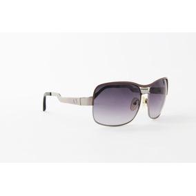 cdba13079 Óculos De Sol Armani Exchange Em Metal Lente Roxo Degradê