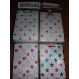 Bolsitas Carton P/ Souvenir Cumpleaños Cotillon X 90 Unid
