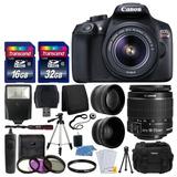 Cámara Réflex Digital Eos Rebel T6 De Canon Lente Memoria Sd