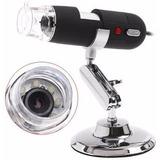 Microscópio Digital Usb 50x-500x 2.0mp Software Medicao Co87