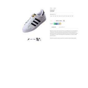 Tenis adidas Org. Superstar Hombre Etiqueta Dorada