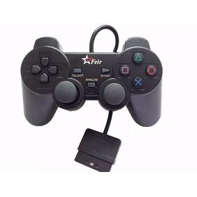 Controle Playstation 2 Original Feir Dualshock 2 C/ Fio