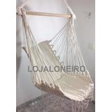 Rede Cadeira Descanso Teto Balanço Artesanal *pronta Entrega