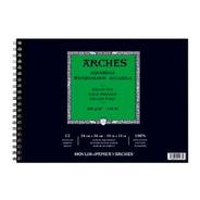 Álbum Arches Acuarela Fino. 26 X 36 Cm.