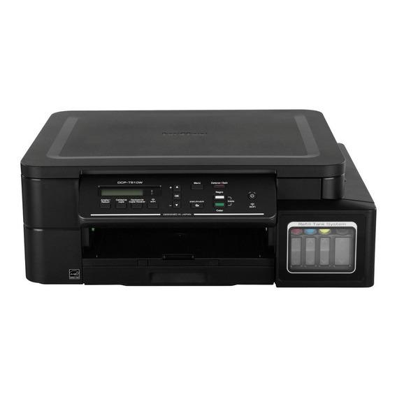 Impresora Multifunción Brother T510 Sistema Continuo Wifi