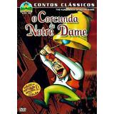 O Corcunda De Notre Dame Desenho Dvd Original Raro