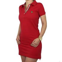 Vestido Made In Mato Vermelho P 6694 - Jãum Jãum