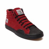 Tenis Sneakers Skateboard Vision Street Wear Rojo (6 Mex)
