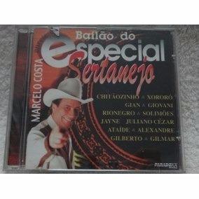 Cd Bailão Do Especial Sertanejo** Marcelo Costa