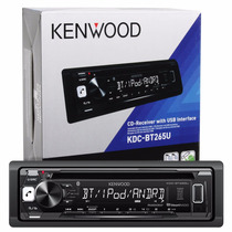 Auto Estereo Kenwood Bluetooth Dual Phone Usb Aux