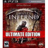 Dantes Inferno Ps3 Ultimate Edition - Digital - Español