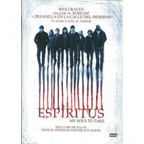 Dvd Espiritus ( My Soul To Take ) 2010 - Wes Craven / Max Th