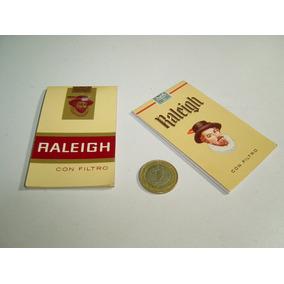 Par De Pequeñas Libretitas Promocionales Raleigh