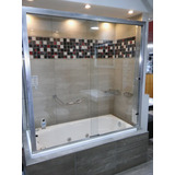 Mampara Shawer 2 Hojas Corredizas P/bañera Adducci Tienda