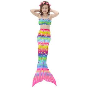 Niños Niñas Nadar Sirena Cola Cola De... (140 (11~1.)