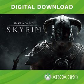 Elder Scrolls V: Skyrim - Código Digital - Xbox 360