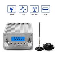 Fm Broadcast Transmitter, Elikliv 15w Lcd Pll Wireless Radio