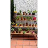Estanterias Madera Todo Para Jardines Y Exteriores En Mercado - Estanteria-para-plantas