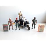 Lote Rambo : Figuras , Moto Y Naipes
