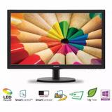 Monitor Led 22 Pulg Philips Full Hd 1080p 5ms Hdmi Vga Gamer