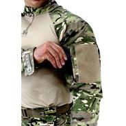 Combat Shirt Tática Hrt Multicam Tactical Dacs Original